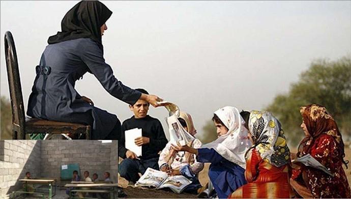 وضعیت تحصیل کودکان ایران زمین- آرشیو