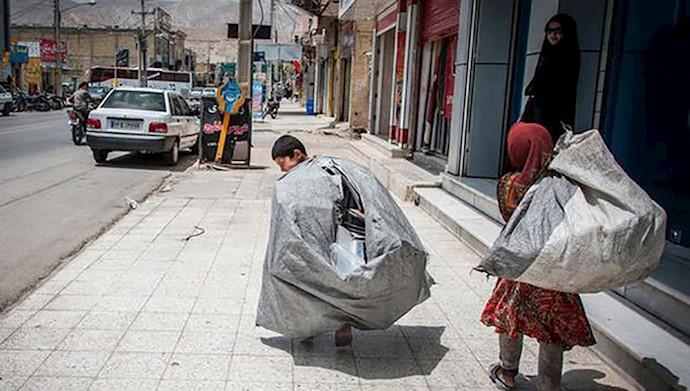 فقر و کودکان کار در ایران
