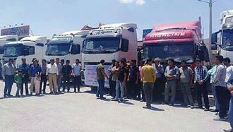 حمایت کنگره سراسری فدراسیون بین المللی کارگران حمل و نقل آی تی اف (ITF ) از حقوق  کامیونداران و اعتصاب سراسری آنها در ایران
