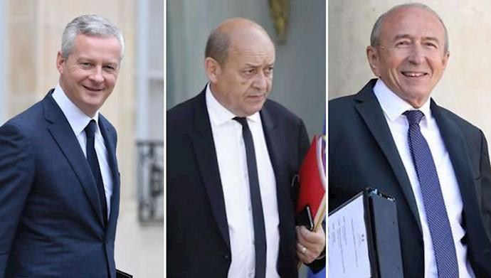 سه وزیر فرانسوی در مورد مسدود کردن داراییهای وزارت اطلاعات ایران اطلاعیه مشترک صادر کردند.
