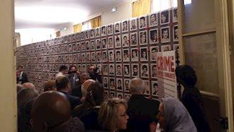 قرائت بیانیه ۲۳۲۰ زندانی زیر حکم اعدام در کنفرانس لغو حکم اعدام در پاریس