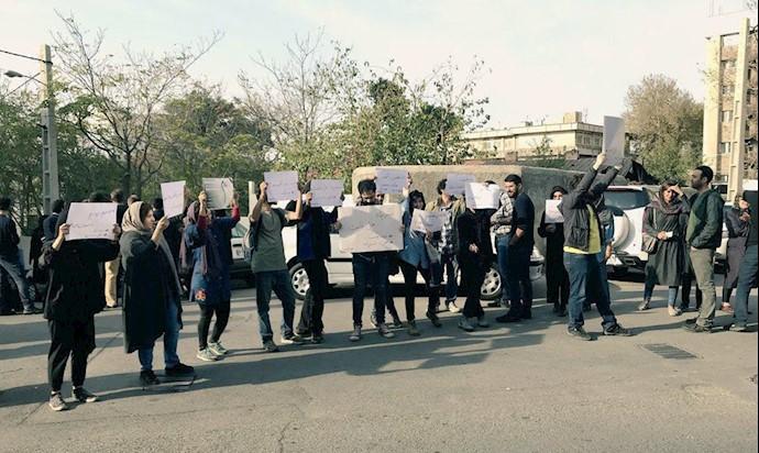 تجمع فعالان مدنی و ساکنان در ده ونک