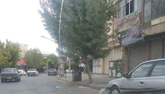 اسلام آباد غرب.اعتصاب بازاریان و مغازه داران - ۱۶مهر۹۷