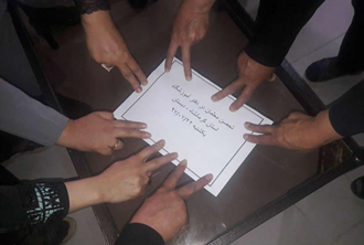 اعتصاب و تحضن معلمان آزاده