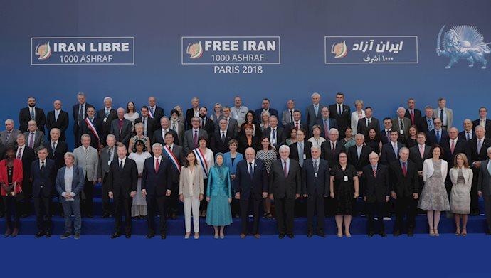 گردهمایی بزرگ ایرانیان در پاریس - ۱۳۹۷