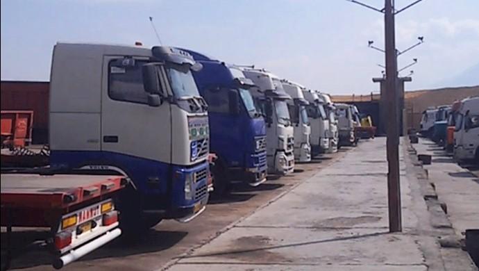 هفدهمین روز اعتصاب کامیونداران