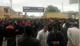 اعتصاب و اعتراض کارگران نیشکر هفت تپه ۴ آذر۹۷