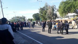 بیستوپنجمین روز اعتصاب کارگران نیشکر هفت تپه - ۸ آذر ۹۷