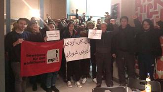 ابراز همبستگی اعضای دفتر زوریخ جنبش برای سوسیالیسم در سوییس با کارگران اعتصابی هفتتپه