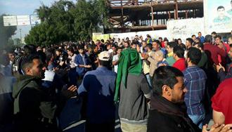 بیست و ششمین روز اعتصاب و اعتراض کارگران نیشکر هفت - ۹ آذر۹۷
