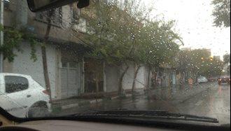 اعتصاب بازاریان  تهران حوالي ميدان امام حسين