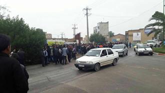 بیستودومین روز اعتصاب کارگران نیشکر هفتتپه