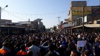 تظاهرات کارگران نیشکر هفت تپه