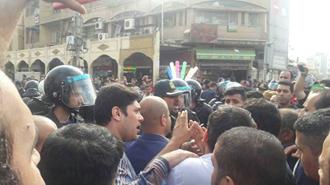 اعتصاب و اعتراض کارگران  فولاد اهواز - ۵ آذر۹۷