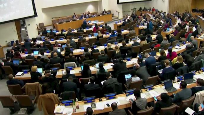 شصت و پنجمین محکومیت رژیم آخوندی در ملل متحد به علت نقض حقوق بشر