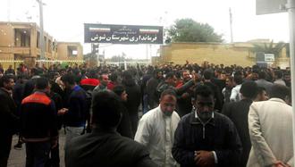 بیستویکمین روز اعتصاب و اعتراض کارگران نیشکر هفتتپه