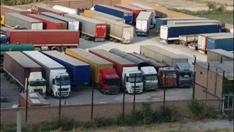 اعتصاب رانندگان کامیون در چهارمین دور- عکس از آرشیو