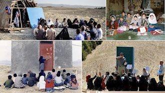 کارنامه ۴۰سال حکومت آخوندی در نظام آموزشی کشور