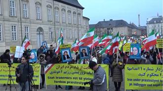 کپنهاک - تظاهرات در محکومیت تروریسم رژیم ایران