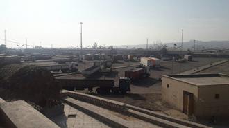 اعتصاب کامیونداران در  بندرعباس -۲۰ آبان ۹۷