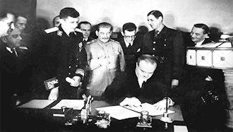 مارشال دوگل رهبر مقاومت فرانسه با شوروی پیمان دوستی امضا کرد