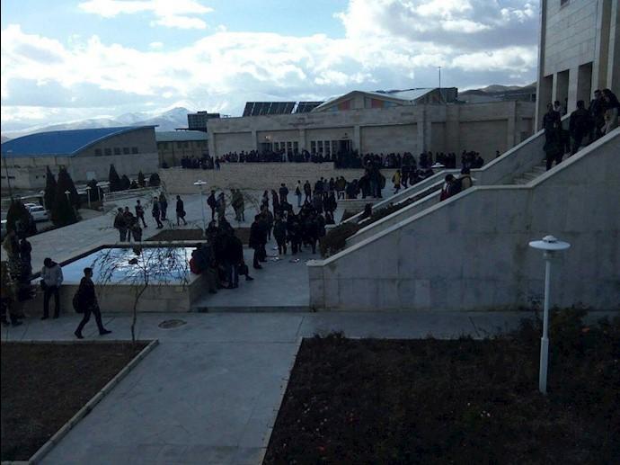 اعتصاب و تجمع #دانشجویان دانشگاه اراک به مناسبت روز دانشجو