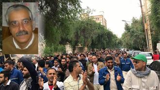 حمایت زندانی  سیاسی ابوالقاسم فولادوند از اعتراضات کارگران فولاد اهواز