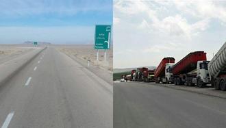 اعتصاب سراسری رانندگان کامیون برای هفتمین روز