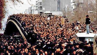 راهپیمایی ۲میلیون نفری مردم تهران