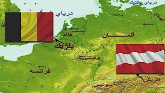 اشغال بلژیک توسط اتریش