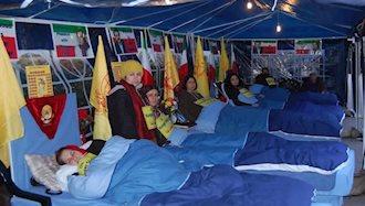 اعتصاب غذای هواداران مجاهدین در ۱۲ کشور جهان آغاز شد