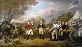 جنگ آمریکا و انگلستان پایان یافت