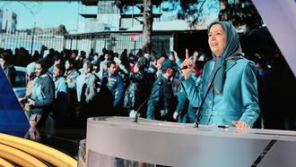 مریم رجوی_سخنرانی در گردهمایی بزرگ مقاومت در پاریس_۹تیر ۱۳۹۷