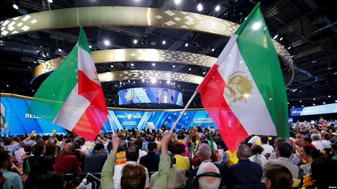 گردهمایی مقاومت ایران در پاریس هدف دیپلمات تروریستهای رژیم ایران