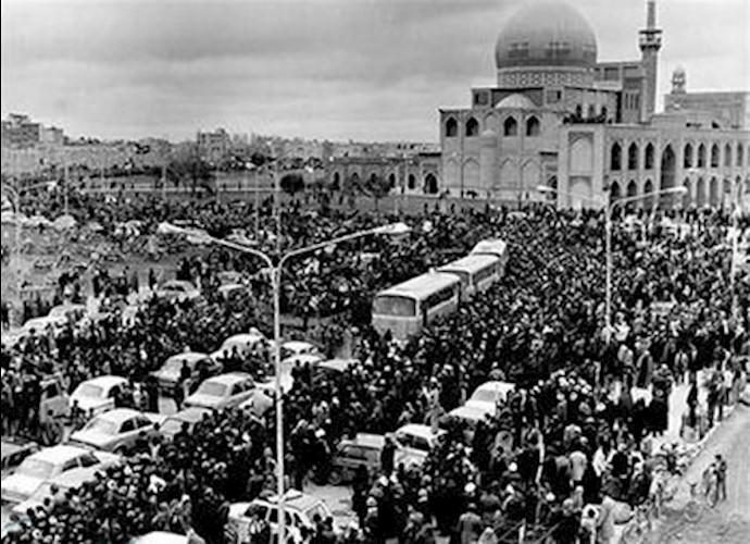تظاهرات مردم اصفهان