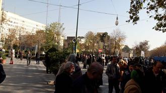 اعتصاب غارت شدگان کاسپین در تهران  ۲۰ آذر۹۷