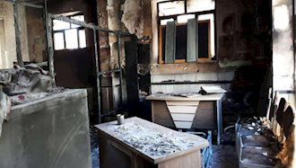 مدرسه دخترانهای در زاهدان که دچار آتشسوزی شد