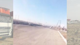اعتصاب سراسری کامیون داران در پنجمین روز خود