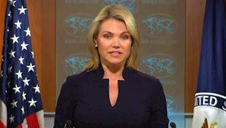 هدر نائورت، سخنگوی وزرات امور خارجه آمریکا