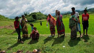 مسلمانان روهینگیایی در گورهای جمعی