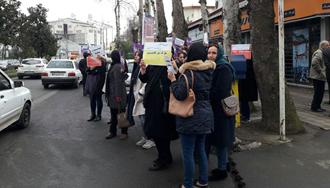 تجمع اعتراضی غارتشدگان کاسپین در رشت