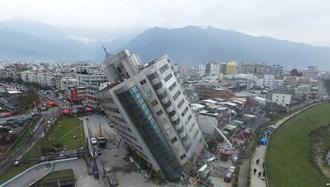 زلزله شش و چهاردهم ریشتری در تایوان