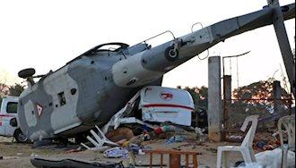 سقوط هلیکوپتر وزیر کشور مکزیک در جریان بازدید از مناطق زلزله زده