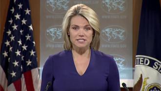 هدر نائرت سخنگوی وزارت خارجه آمریکا