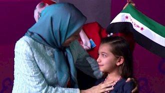 هلا! دخترک سوری! گریه نکن قلبهای ما با تست