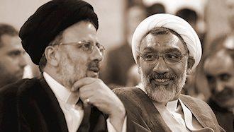 آمران قتل عام سال ۶۷ مصطفی پور محمدی و ابراهیم رئیسی