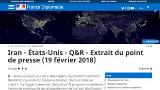 سخنگوی وزارت خارجه فرانسه