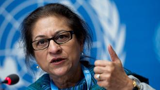 عاصمه جهانگیر، گزارشگر حقوق بشر سازمان ملل در امور ایران