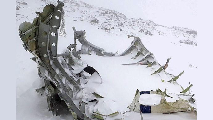 دیروز فاجعه کشتی سانچی امروز سقوط هواپیما فردا.