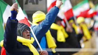 ژنو – تظاهرات و اعتراض در برابر سازمان ملل علیه حضور دژخیم علیرضا آوایی